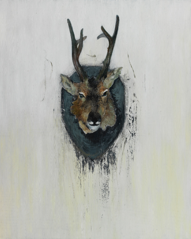 Xie Zhengli_ Deer 4_2012_oil on canvas_100x80cm
